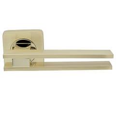 Ручка дверная Armadillo BRISTOL SQ006-21SG/GP-4 матовое золото/золото