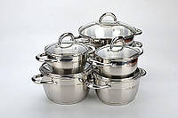 Набор посуды ( Набор кастрюль ) 12 пр. Mayer&Boch MB-20840
