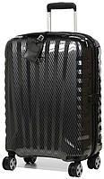 Инновационный гигантский чемодан на 4-х колесах из карбона Roncato Uno Zip Deluxe, 5213/95/95, черный, 113 л.