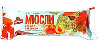 """Батончик-мюсли """"Злаки с персиком"""" 35г (Спартак)"""