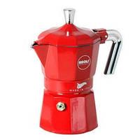 Кофеварка гейзерная фиолетовая на 6 чашек RISOLI ZARINA 01010Z/3TRS0