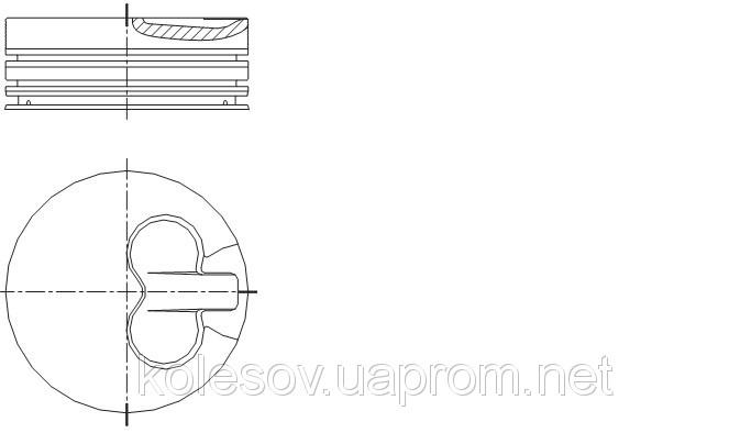 Поршни FORD Sierra (Escort, Mondeo) 1.8 TD д.82,5мм