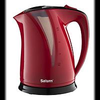 Чайник электрический 2 л SATURN ST-EK8417красный