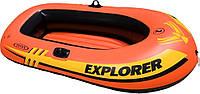 Лодка надувная 185х94см Explorer Intex 58330