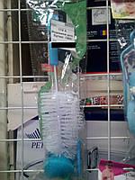 Ершик для чистки бутылки 36см А-Плюс 174А