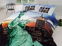ПОСТЕЛЬНОЕ БЕЛЬЕ 3D САТИН 200*220, ТМ FIRST CHOICE (New York)