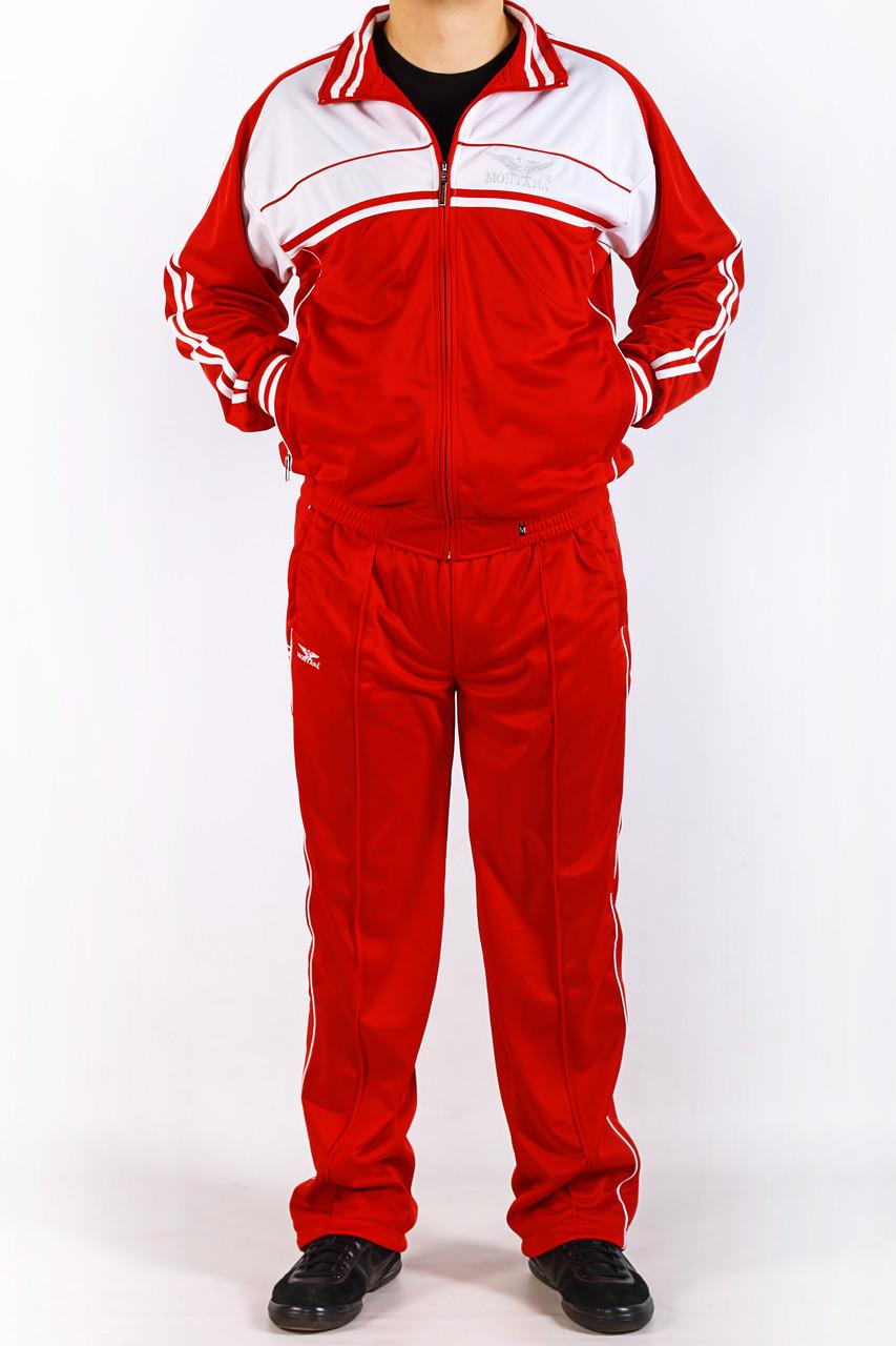 Спортивный костюм Montana бело-красный