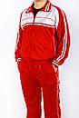 Спортивный костюм Montana бело-красный, фото 3