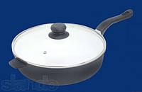 Сковорода с керамическим покрытием 28см  Bohmann BH 6528 WC