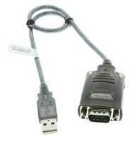 Шнур гн.DB9pin- штекер mini USB 5pin, диам.-4мм, 1,5м