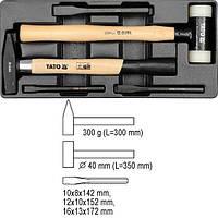 YATO Вклад до висувного ящика , молотки 2пр. l=300, 350мм, та зубила 3пр.