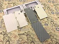 Кожаный чехол флип , чехол книжка и накладка Melkco для Sony Xperia Z1 / i1 / C6903 белый