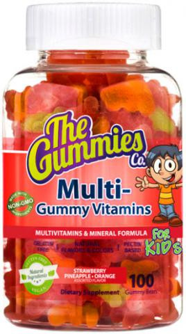 The Gummies Co. Multi Gummy Vitamins 100 gummy bears