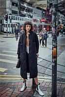 Модное женское пальто с двумя карманами TriL-ism