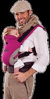 Эргономичный рюкзак-переноска для детей «ЕСО Design «Womar малиновый