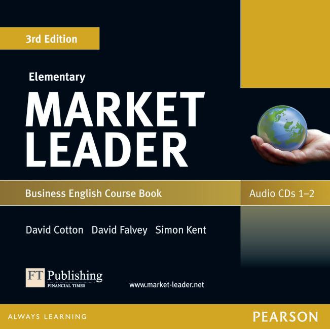 Market Leader (3rd Edition) Elementary Class Audio CDs (2)