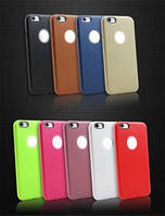 Чехол накладка Slim для iPhone 7 dark blue