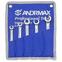Комплект ключей разрезных, 5 ед. ANDRMAX