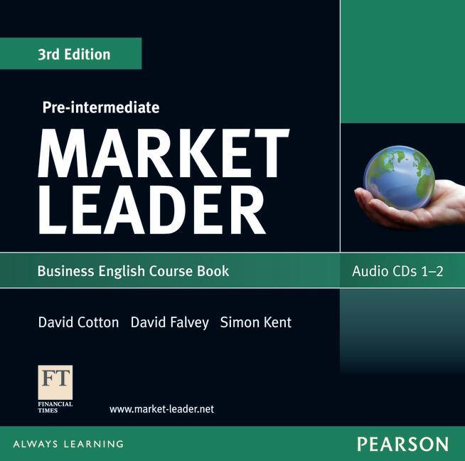 Market Leader (3rd Edition) Pre-Intermediate Class Audio CDs (2)