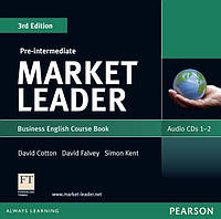 Аудио диски Market Leader (3rd Edition) Pre-Intermediate Class Audio CDs