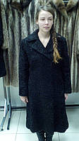 Каракулевое пальто. Натуральный каракуль.Шуба из натурального афганского каракуля AFGHAD KARAKUL