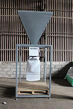 Дозатор весовой полуавтоматический ДВСВ-М для расфасовки сыпучих веществ дозами от 5 кг до 70 кг