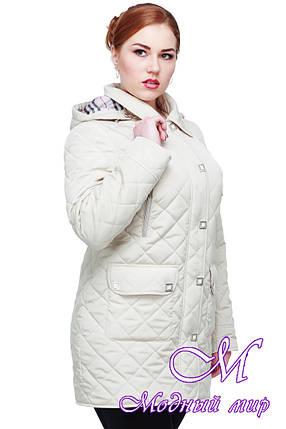 Женская демисезонная куртка больших размеров (р. 48-64) арт. Азалия, фото 2