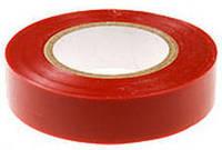 Изолента ПВХ ГОСТ16214-86 (Украина) красного цвета