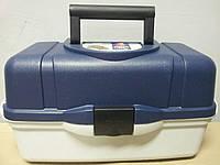 Ящик универсальный пластиковый на 3 полки Акватек пластикс, фото 1