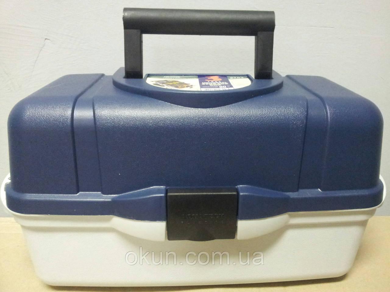 Ящик универсальный пластиковый на 3 полки Акватек пластикс