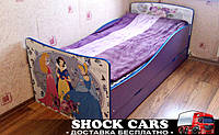 Кровать Принцессы Прованс с рисунками Дисней для девочки купить недорого http://кровать-машина.com.ua/ БЕСПЛАТНАЯ ДОСТАВКА! Детская мебель Принцессы ПРОВАНС под заказ!