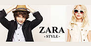 В продажу поступила детская брендовая одежда для мальчиков и девочек Zara kids