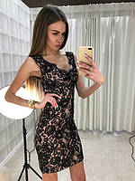 Женское кружевное платье Эффект