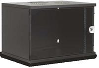 Шкаф коммутационный настенный 9U 19'' 600х450 черный