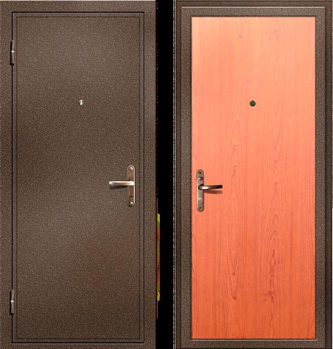 железная дверь для эконом