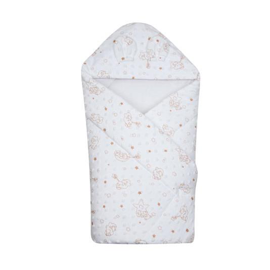 Конверт-одеяло на выписку Minky 641, Duetbaby