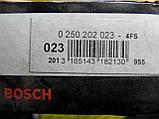Свічка розжарення BOSCH 0250202023,0 250 202 023,, фото 2