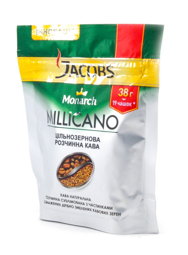 Растворимый кофе Jacobs Monarch Millicano 38 гр.