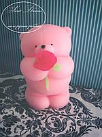 Мыло Мишка с розой