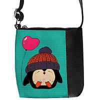 Стильная сумка для девочки с милым пингвином