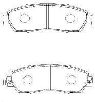 Тормозные колодки HONDA CR-V (RE) 10/2006- (USA), (AKEBONO) дисковые передние, Q-TOP (Испания)  QF0967S