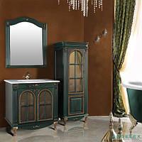 Мебель в ванную комнату Ольвия (Атолл) Venecia 90 аквамарин (комплект)