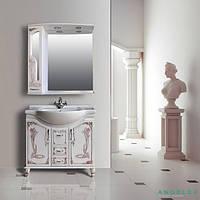 Мебель в ванную комнату Ольвия (Атолл) Барселона Barcelona 85 rame (комплект)