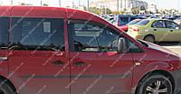 Ветровики окон Фольксваген Кадди 3 (дефлекторы боковых окон Volkswagen Caddy 3)