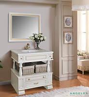 Мебель в ванную комнату Ольвия (Атолл) Джулия Julia 90 dorato (комплект)