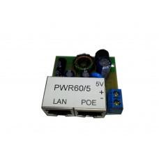 POE адаптер PWR60/5