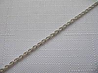 Серебряная цепочка ВЕРЕВКА, ЖГУТИК (3-5 грамм)