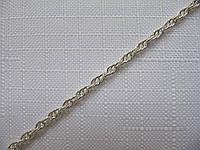 Серебряная цепочка ВЕРЕВКА, ЖГУТИК (5-8 грамм)