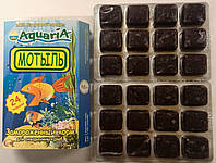 Замороженный корм для аквариумных рыб Мотыль