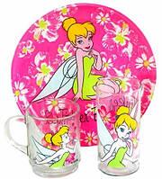 Набор детской посуды 3пр. Disney Fairies Tinker Bell Luminarc 5305h